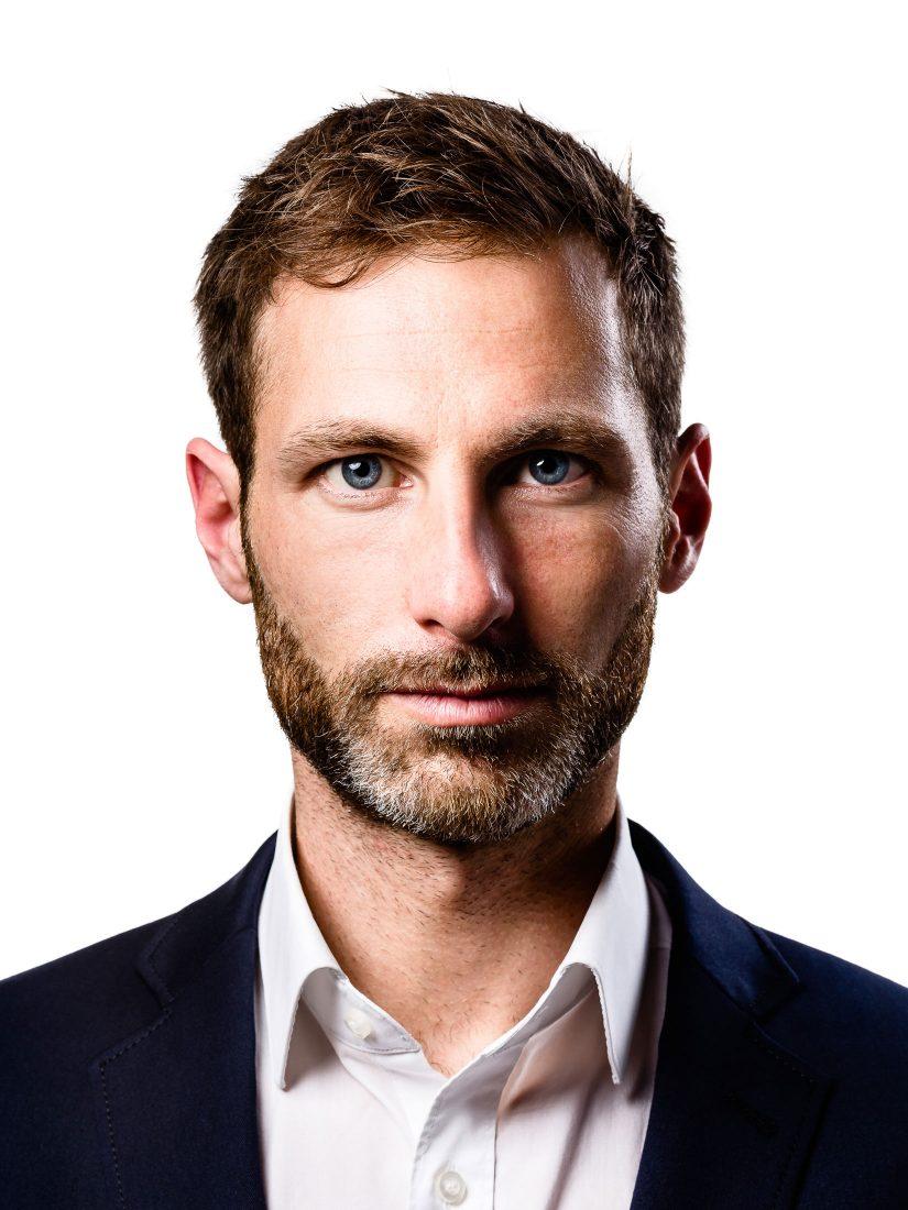 Business Portrait Fotograf - Schwarz-Weiss