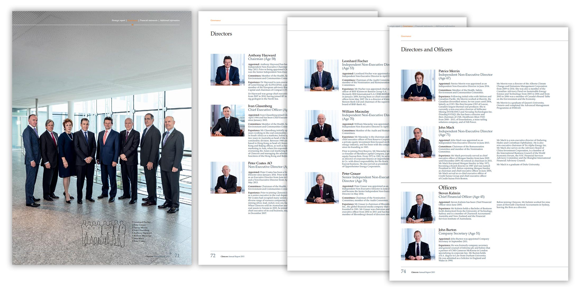 Annual Report Portrait Photography
