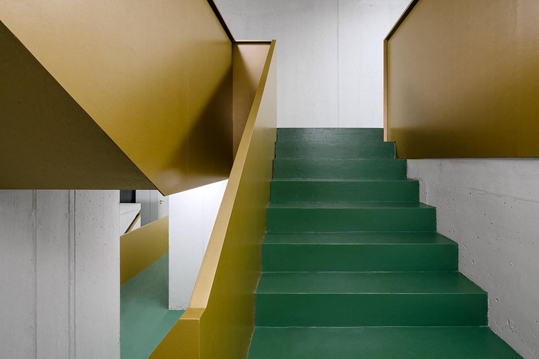 Innenarchitektur Treppenhaus