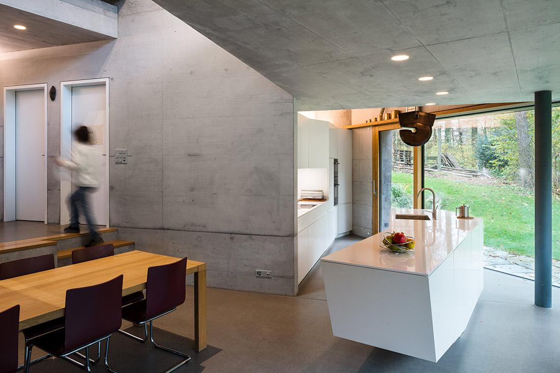 Einfamilienhaus Architektur Küche Fotografie