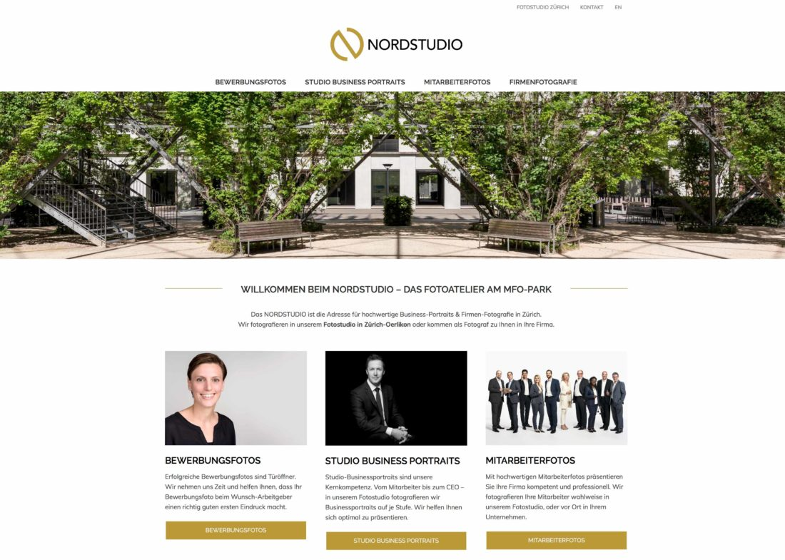 NORDSTUDIO Logo - Corporate Portrait & Headshot Photo Studio Zurich