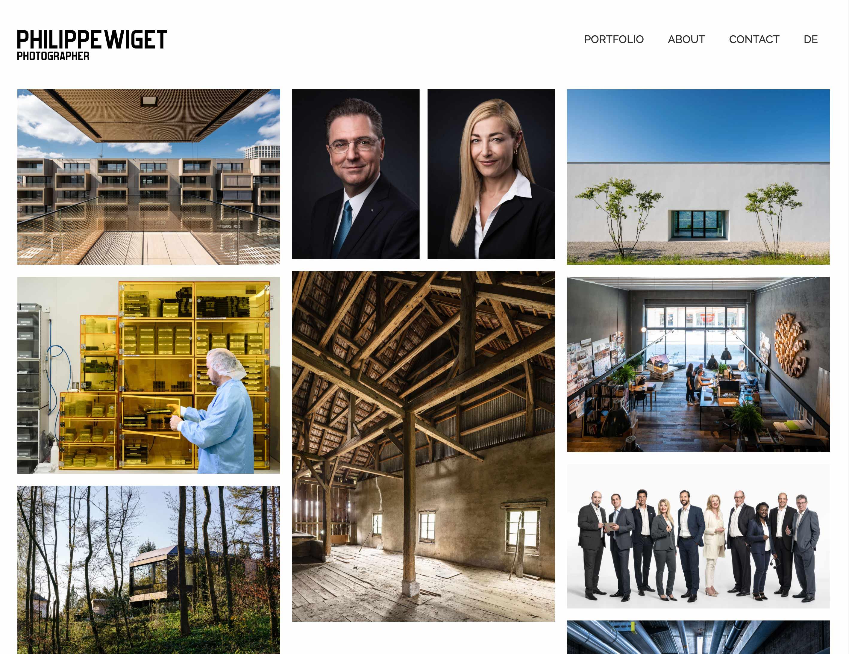 philippewiget.com - Architekturfotografie Industriefotografie Landschaftsfotografie Unternehmensfotografie Reportagen Portraits